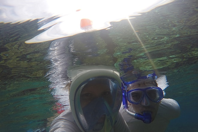 Snorkeling au top Tumbak