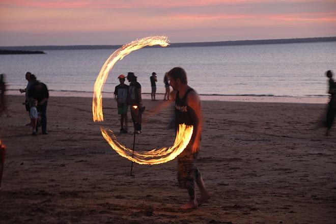 Spectacle Mindil Beach Darwin Australie