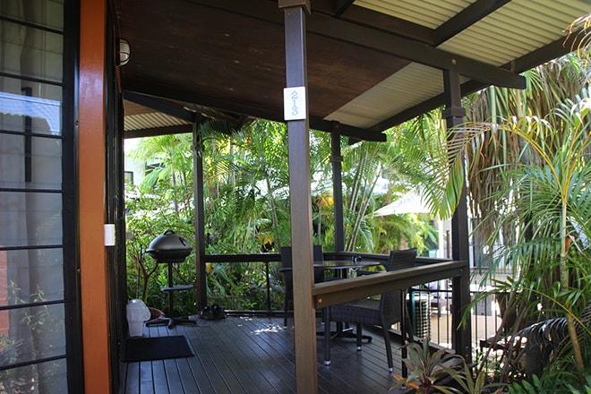 Terrasse Palms City Resort Darwin Australie