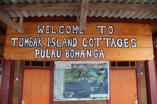 Tumbak Island Cottages Accueil
