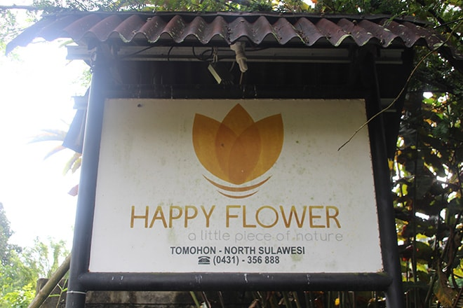 hotel happy flower tomohon