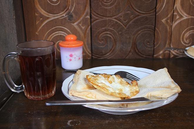 Petit dejeuner Duta 88 Rantepao