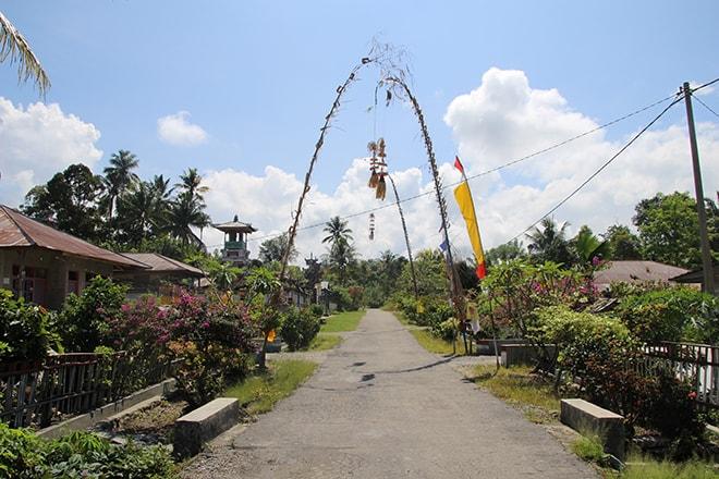 village balinais tentena sulawesi