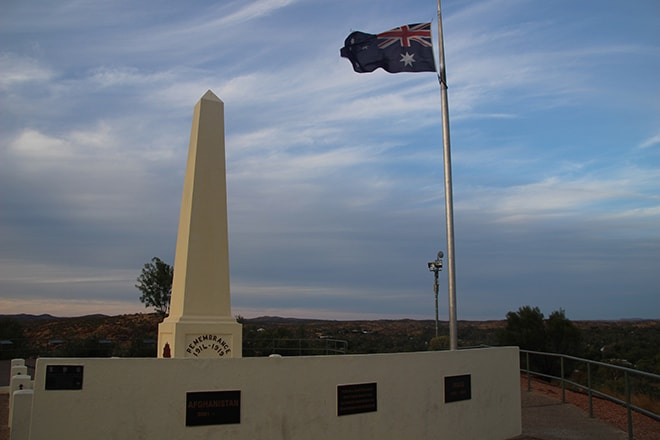 Anzac Hill Alice Springs