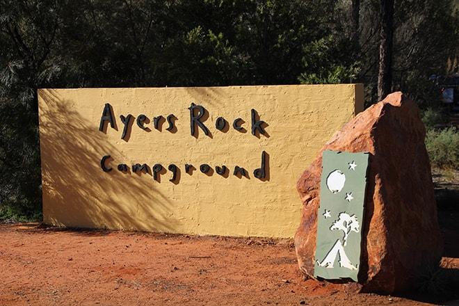 Ayers Rock camping Uluru