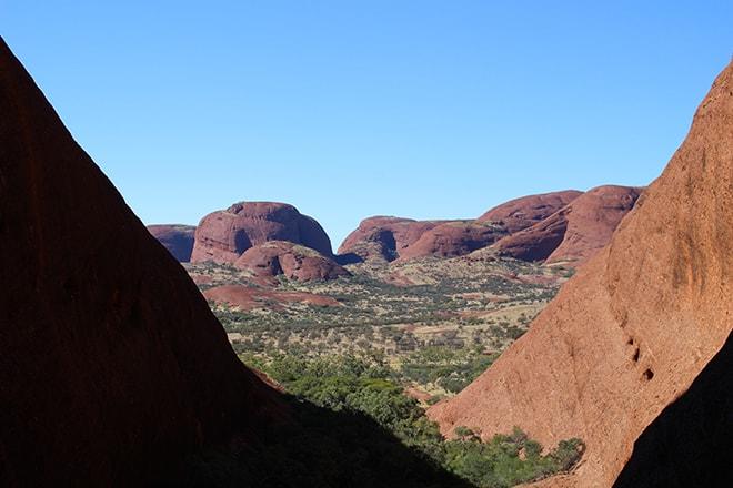 Balade au coeur du Mont Olgas Uluru