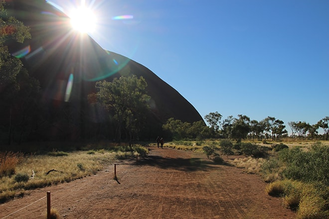 Base Walk Uluru depart