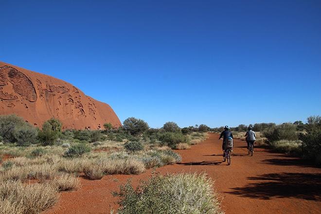 Base Walk Uluru fin