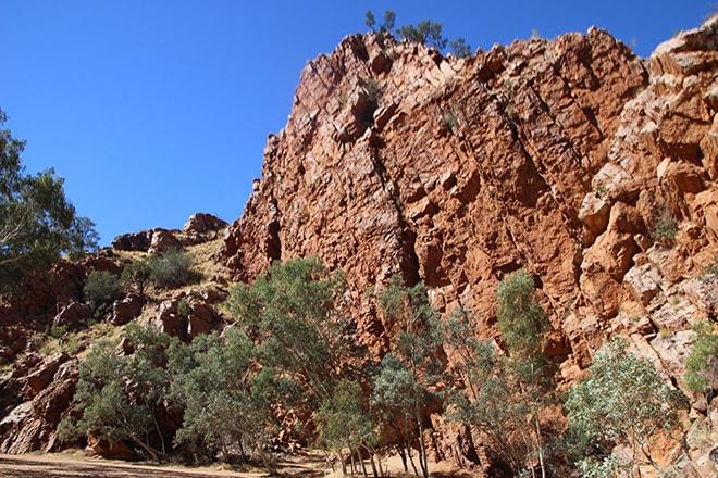 Face sud Corroboree Rock