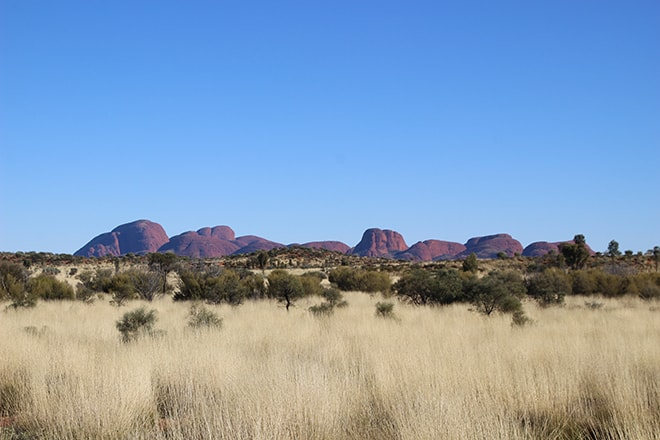 Mont Olgas a Uluru