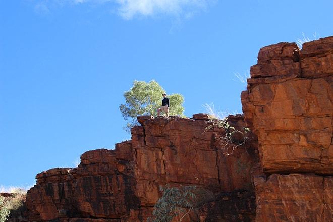 Tom vue du bas Trephina Gorge