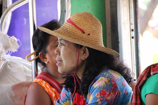birmane sourire