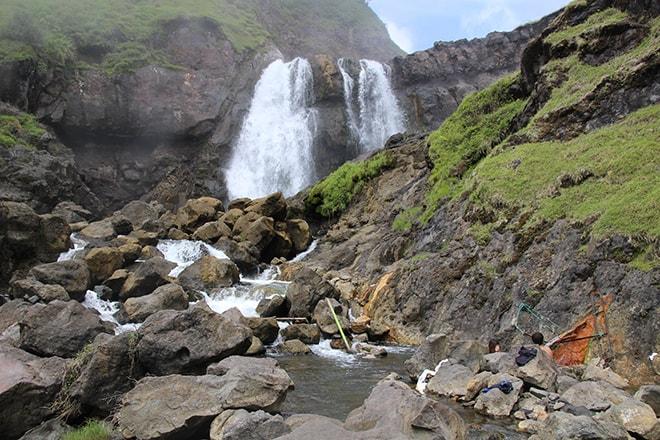 Cascades et sources d'eau chaude Rinjani