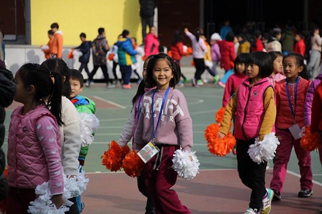 Enfants chinois pékin
