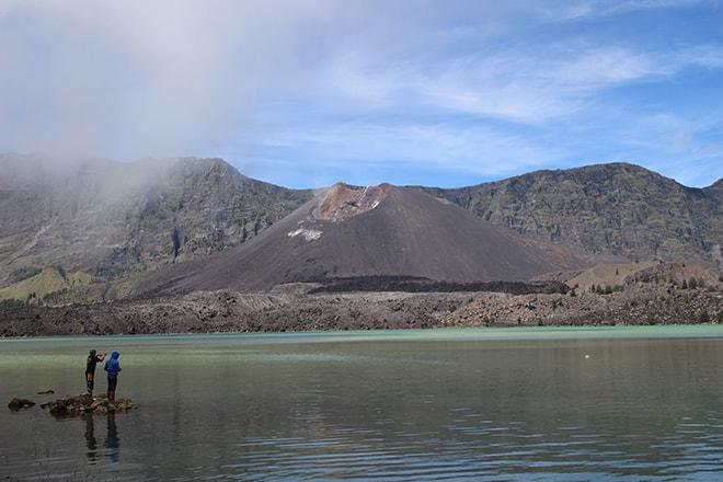 Lac Rinjani trek