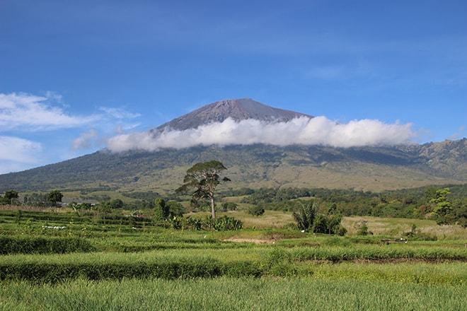 Mont Rinjani Lombok Indonésie