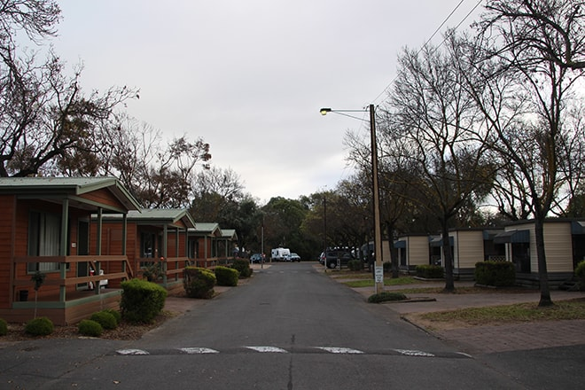 Allee Camping Adelaide Australie