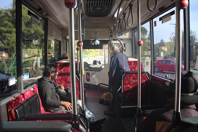 Bus gratuit Adelaide Australie