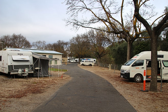 Camping Adelaide Australie