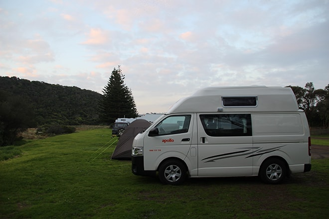 Camping Great Ocean Road Australie