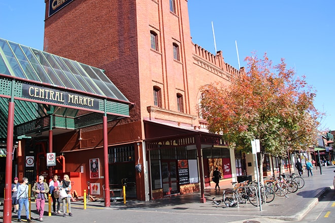 Central Market Adelaide Australie