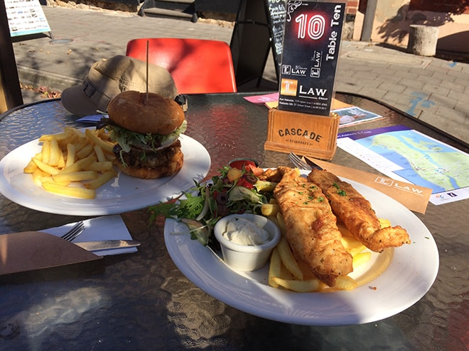 Fish and chips Port Adelaide Australie