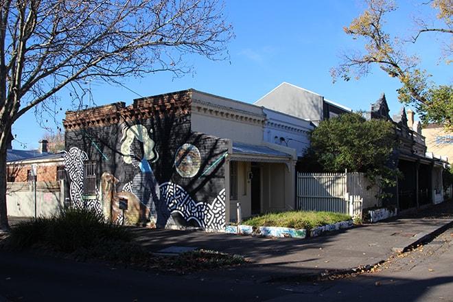 Fitzroy quartier Melbourne Australie