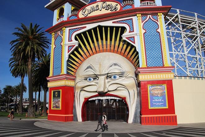 Luna Park Melbourne Australie
