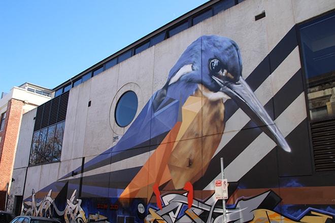 Mural Street Art Melbourne Australie