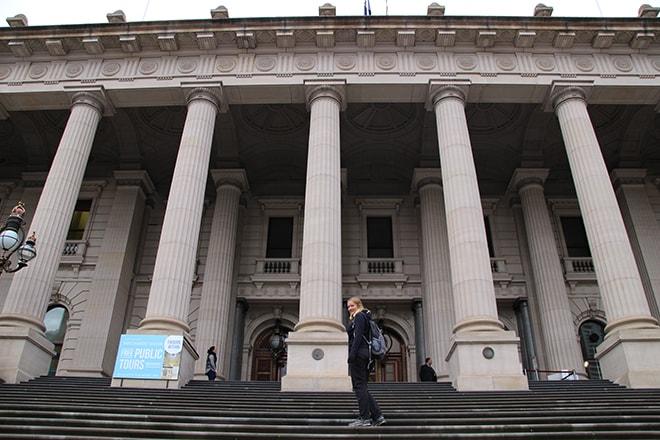 Parlement Melbourne Australie