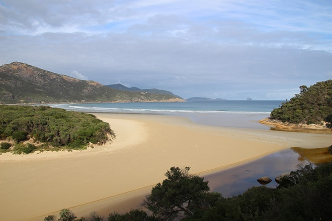 Paysage Wilsons Promontory Australie
