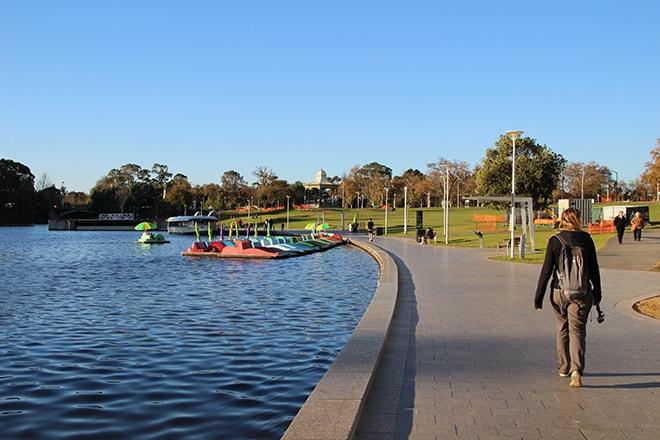 Quais Adelaide Australie