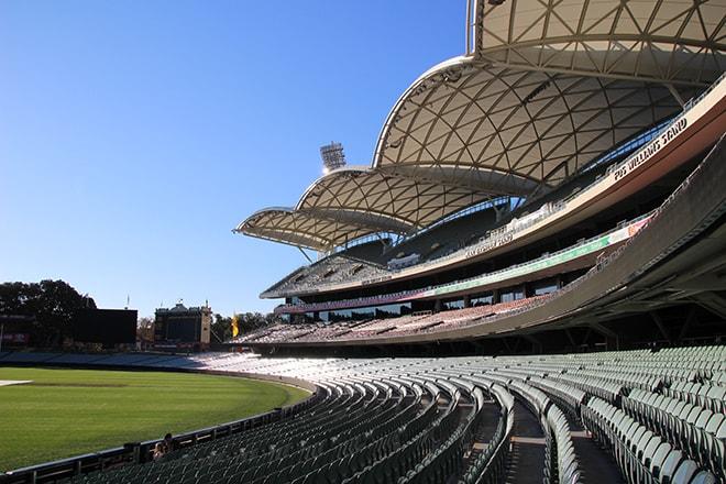 Stade Oval Adelaide Australie