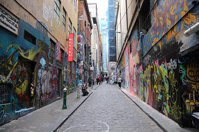Street Art Rue Melbourne Australie