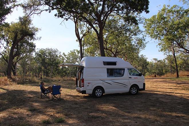 camping gratuit kakadu