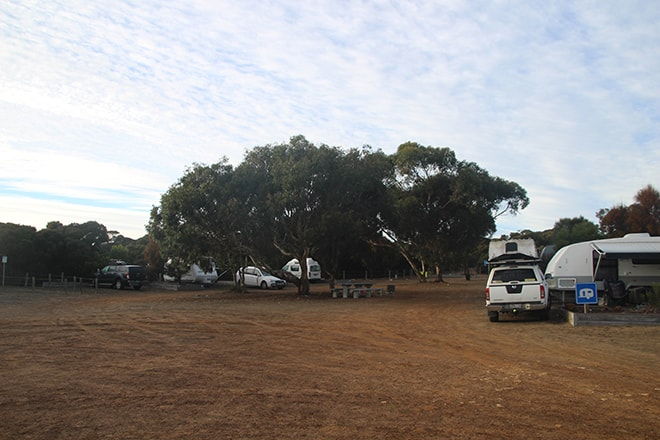 camping kangaroo island