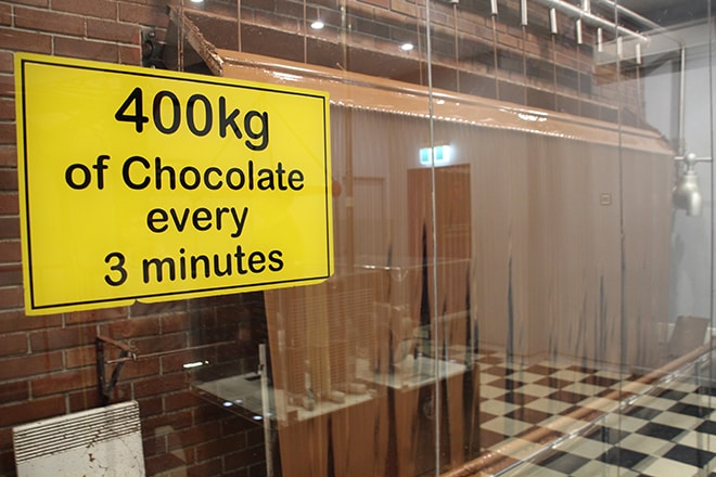 Visite de la chocolaterie de Phillip Island