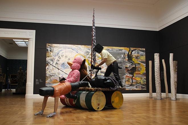 installation musee Adelaide Australie