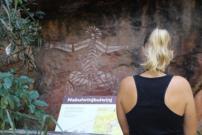 peintures aborigene Nourlangie kakadu