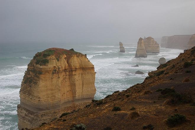 plateforme 12 apotres Great Ocean Road Australie