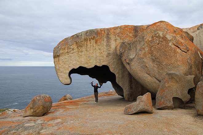 remarkable rocks kangaroo island australie