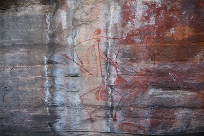 peintures aborigene Ubirr kakadu