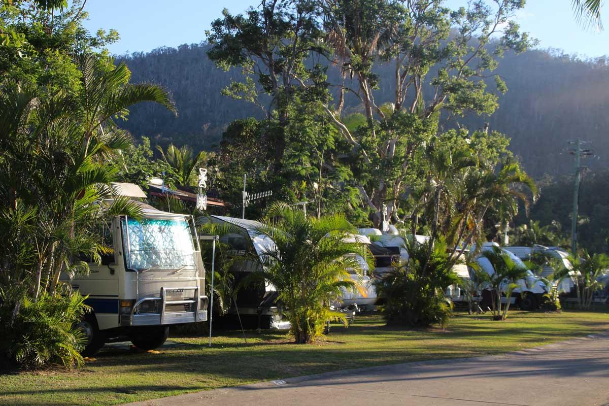 Allée Camping Airlie Beach