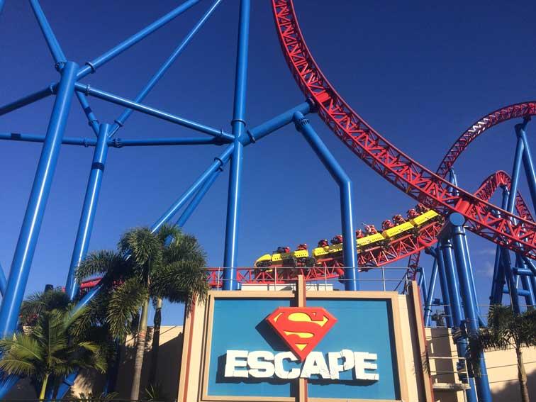Attraction Superman Movie World Gold Coast