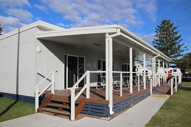 Bungalow camping Newcastle Australie