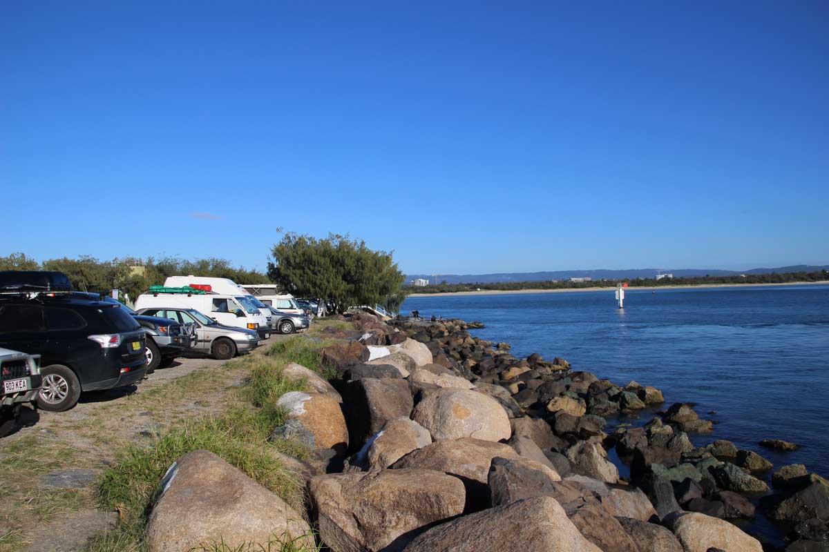 Campground gratuit Surfers Paradise Australie