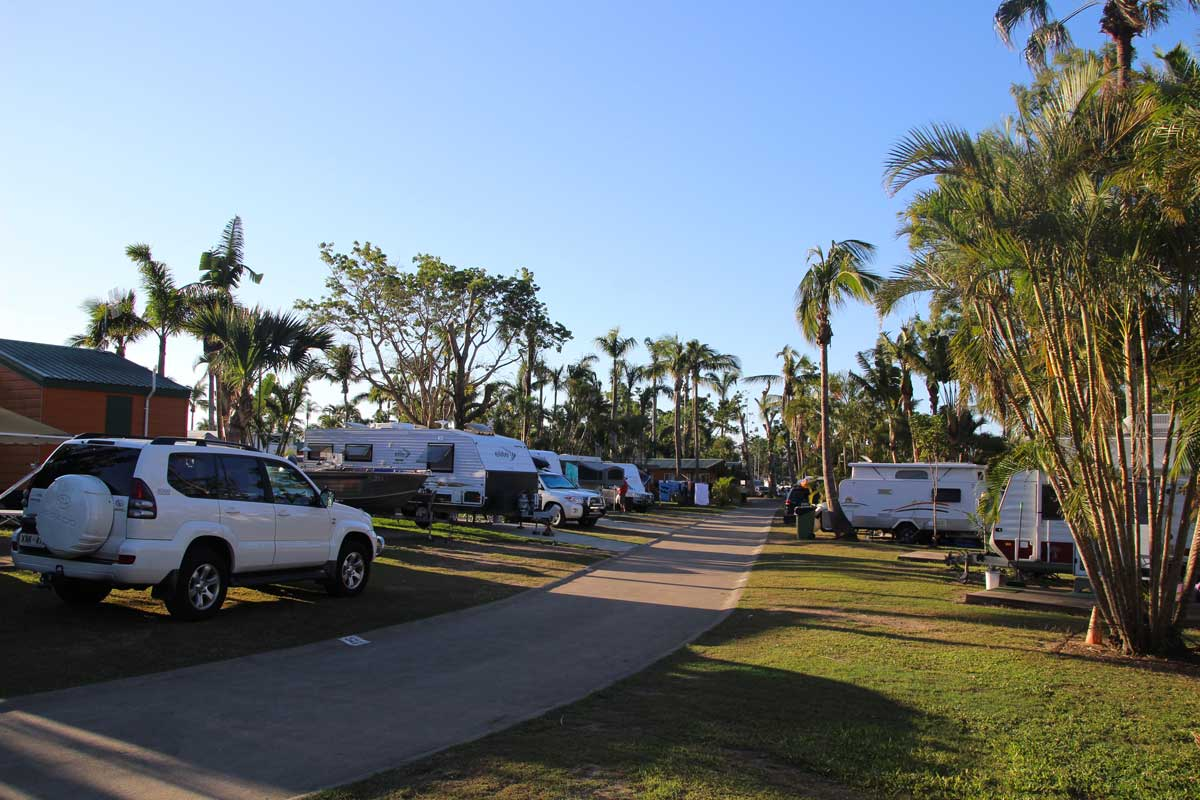 Camping Airlie Beach