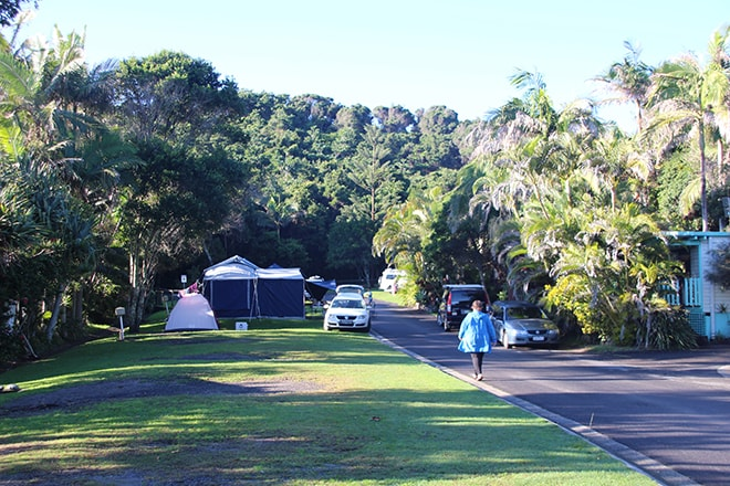 Camping Byron Bay site