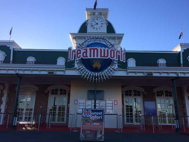 Dreamworld entree Gold Coast Australie
