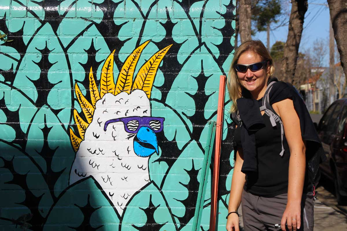 Elo Street art Sydney Australie
